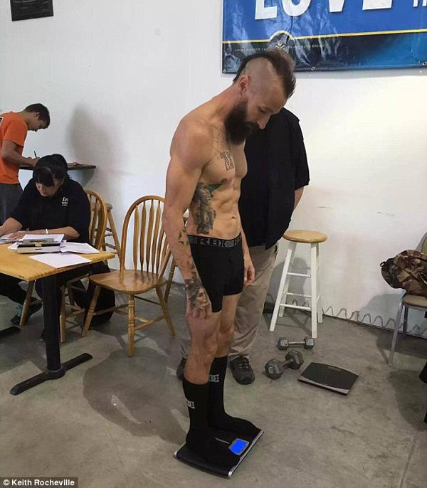 Keith Rocheville MMA Transformation