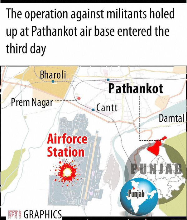 85 hours of Pathankot