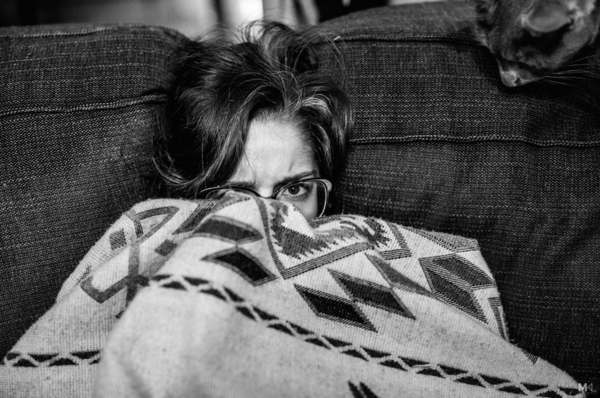 Camera-shy girlfriend