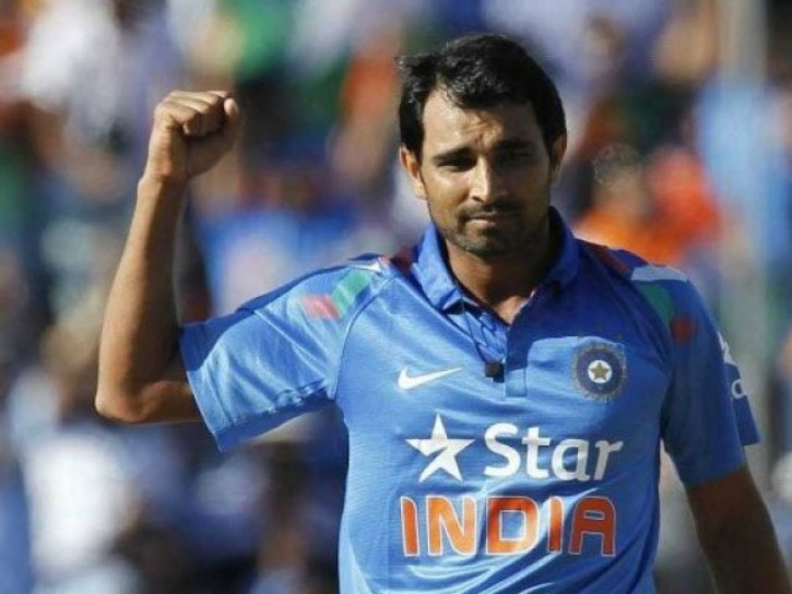 Indian Cricketer Mohammed Shami