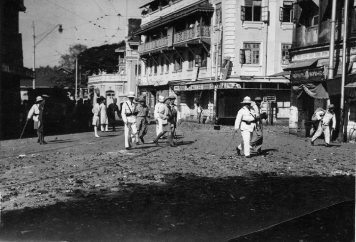 Protesters in Bombay