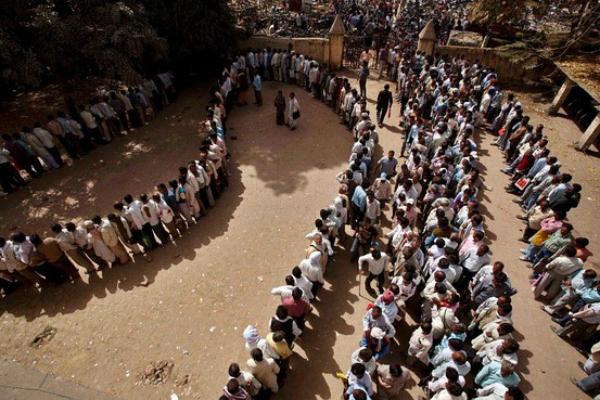 unemployment india line