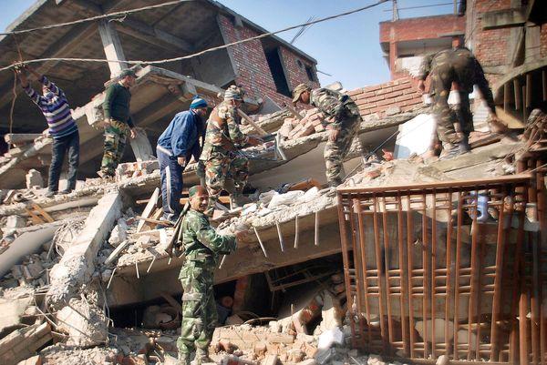 Manipur earthquake damage 2016