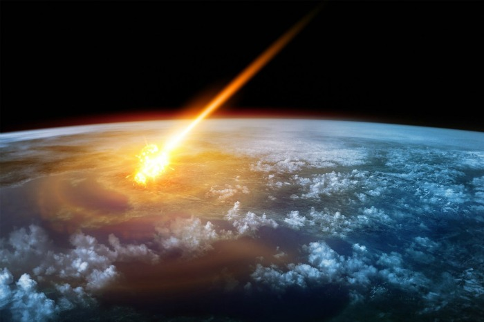Asteroids and meteors
