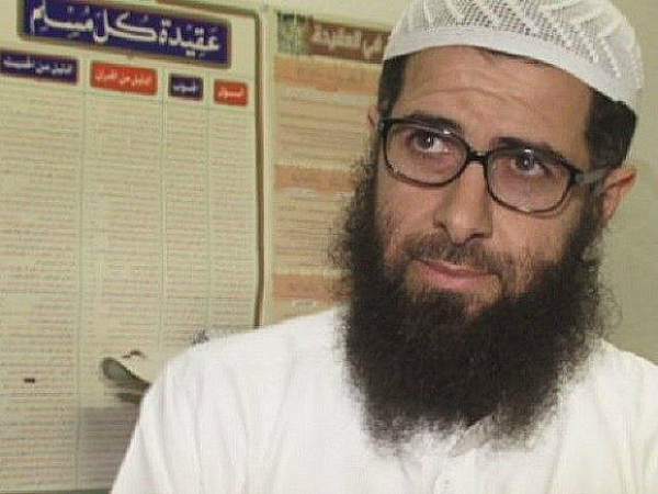 Salafi muslim mosque imam