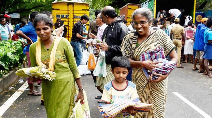 relief during chennai floods