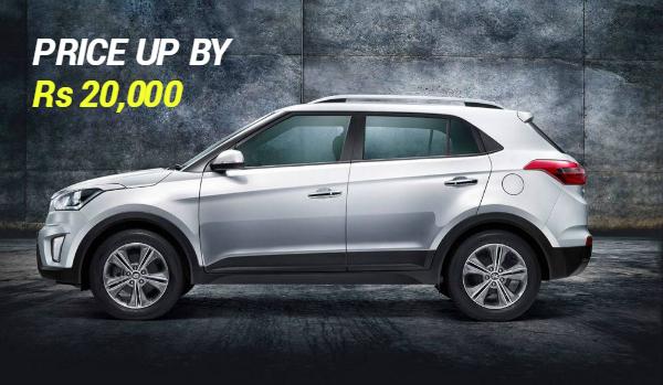 car price increase creta