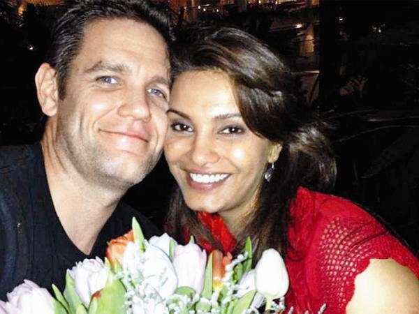 Diana Hayden with husband