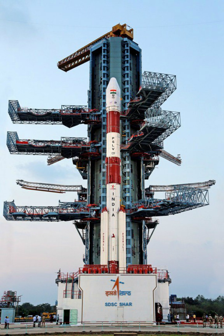ISRO Successfully Launches Fifth Navigation Satellite In The Series