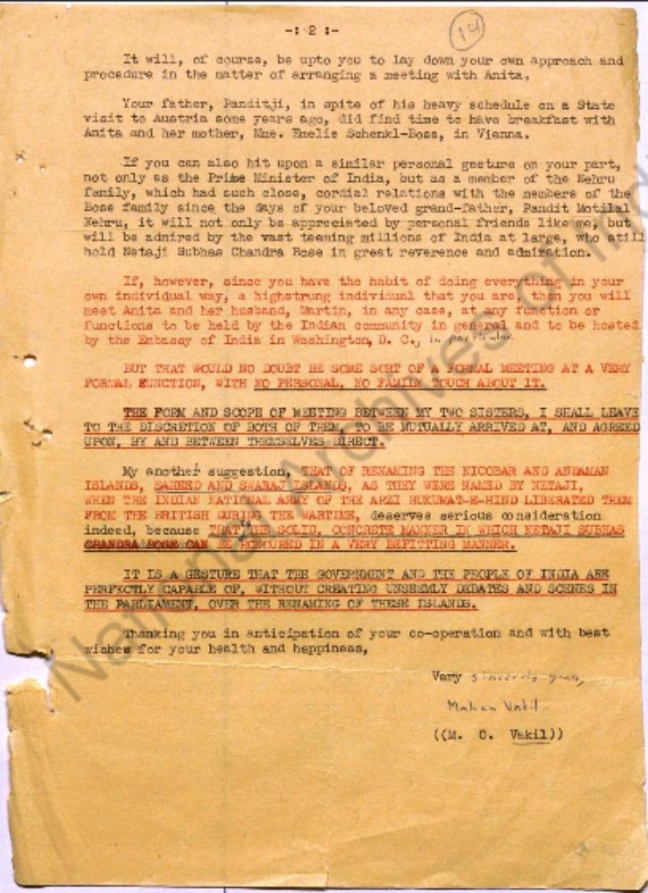 100 Netaji Files Declassified By The Government