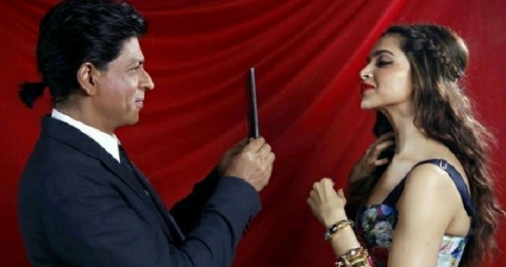 Deepika PAdukone and SRK