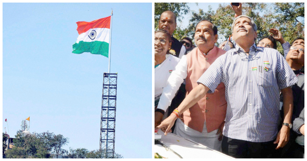 flag india tallest ranchi