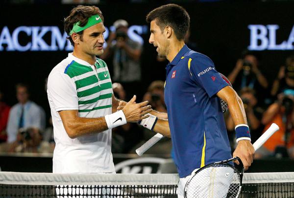 Federer loses to Djokovic