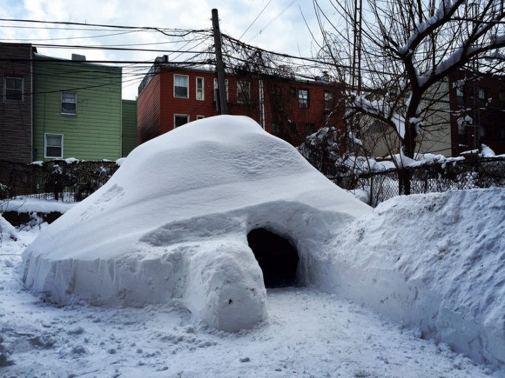 Boutique winter igloo