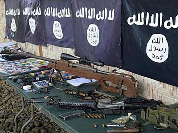 ISIS stockpile