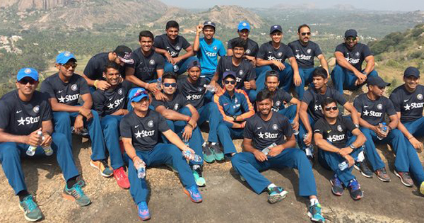 India Under-19 team in the Bootcamp