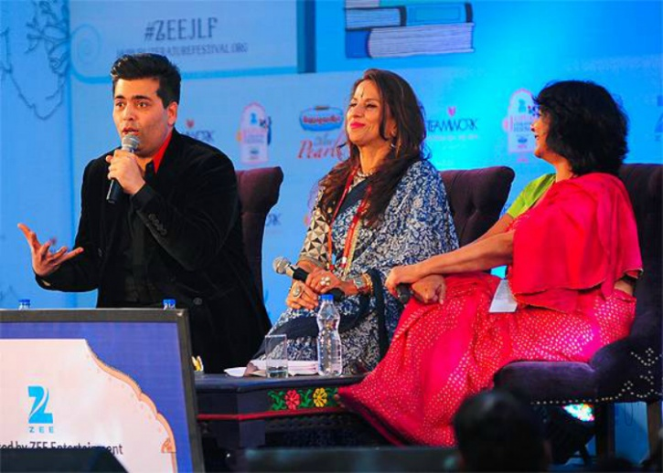 Karan Johar at JLF