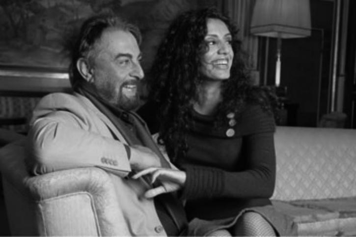 Kabir Bedi and Parveen
