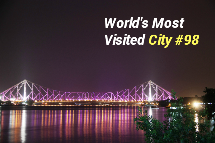 Kolkata is 98 most visited city in world