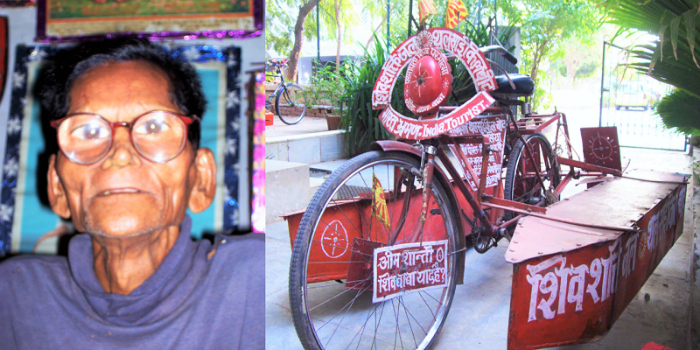 This Indian Man Walked On Water And Cycled On High Seas Back In The 1980s