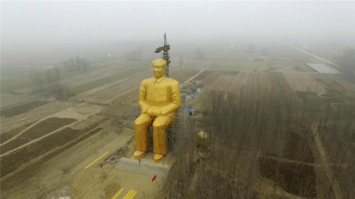 China Demolishes Mao Zedong