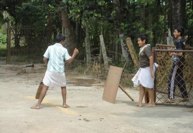 The last Sanskrit village
