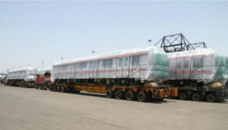 Made In India Metro Coaches Shipped To Australia
