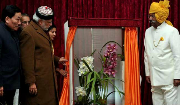 Narendra Modi Goes To Assam To Attend A Meet, Gets A  Flower Named After Him