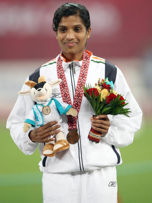 OP Jaisha with the 2006 Asiad bronze