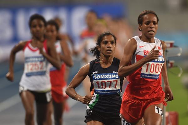 OP Jaisha during the 2014 Asian Games
