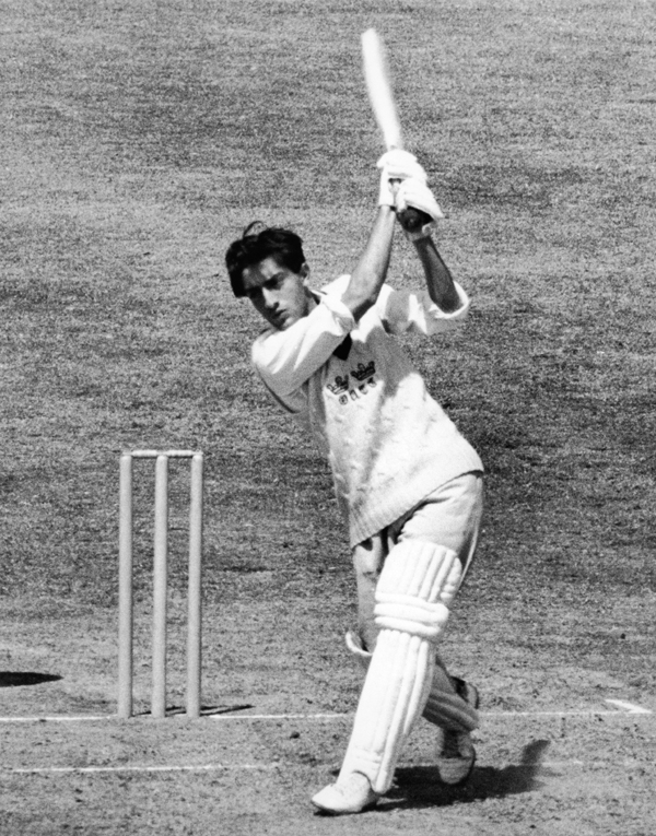 Pataudi batting for Oxford