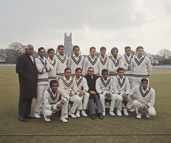 Indian team in 1967. Pataudi is missing from this pic