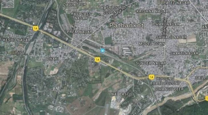pathankot on google maps