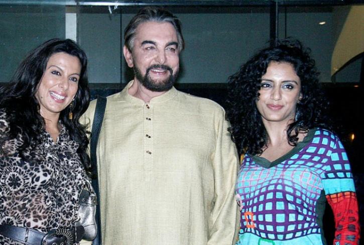 Pooja Bedi and Kabir Bedi