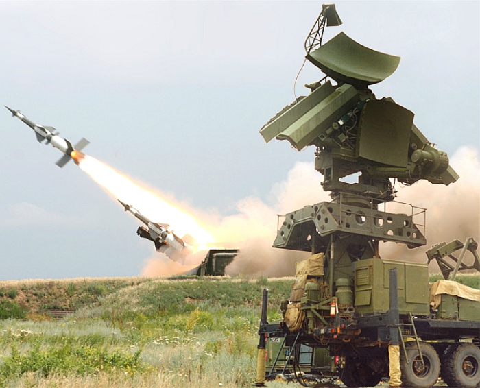 Pechora missile — a surface to air missile