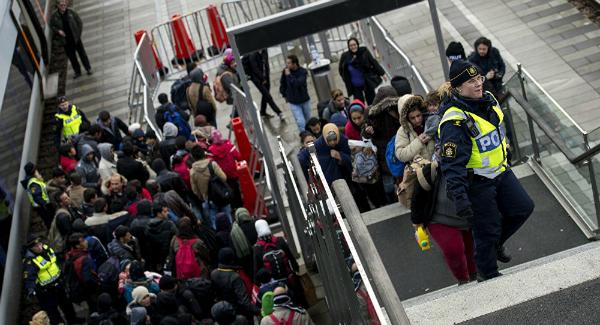 Migrant attack sweden