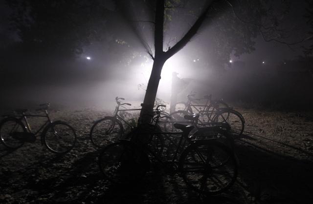 cycles in dark