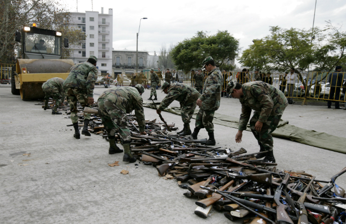 Uruguay guns