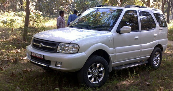 ITBP chiefs tata safari stolen