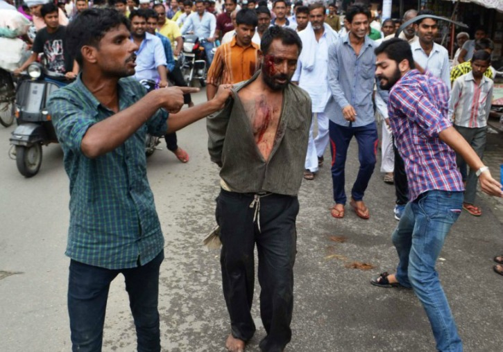 Bajrang Dal Activist Who Thrashed Muslim Man For Alleged Cow-Theft ...