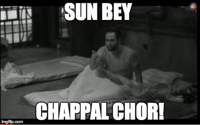 chappal chor