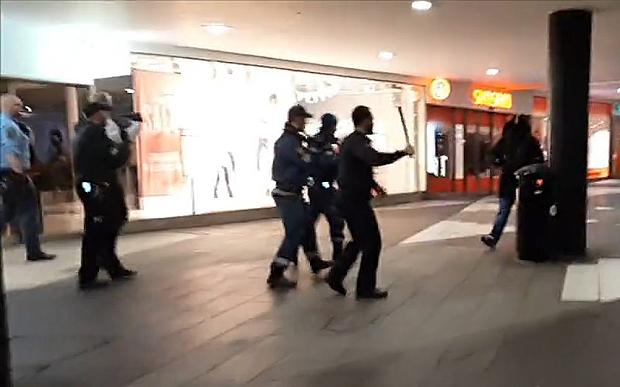Sweden migrants rampage