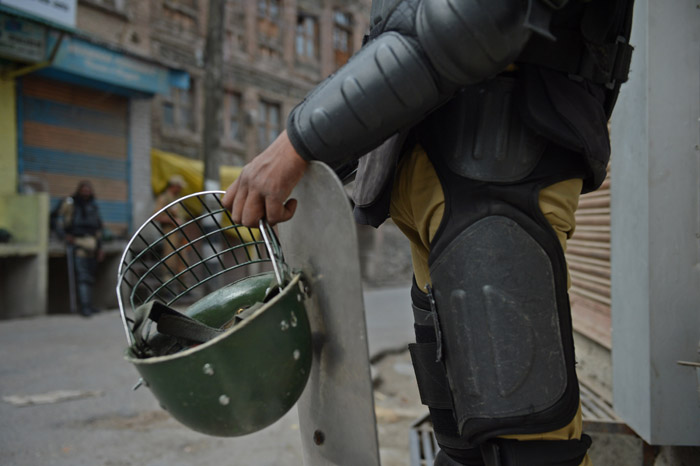 For The First Time In Their History, Paramilitary Troops To Get Bulletproof Headgear