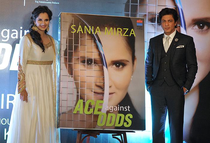 Sania Mirza and Shahrukh khan