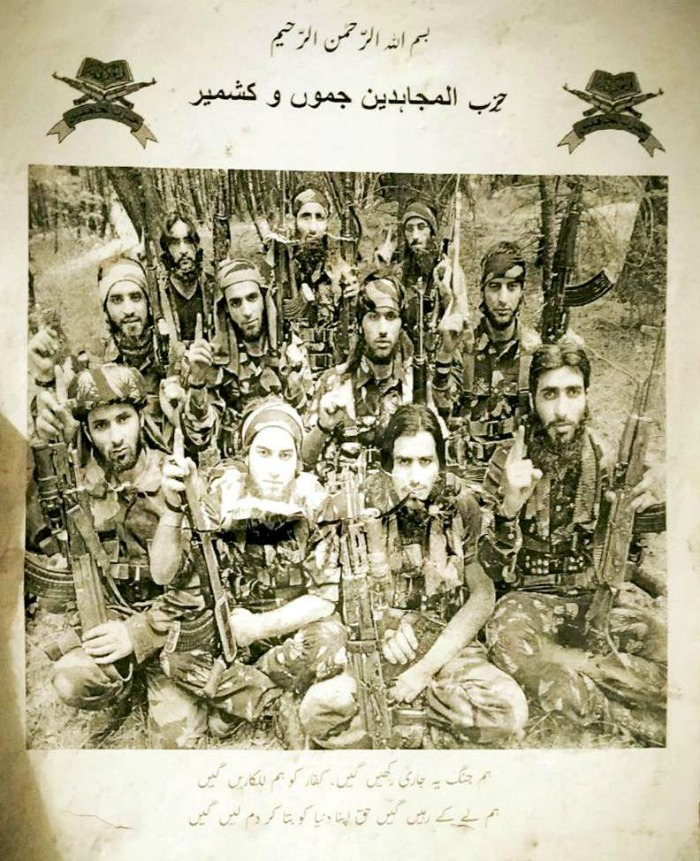 Hizbul Mujahideen Releases Burhan Wani-like Poster
