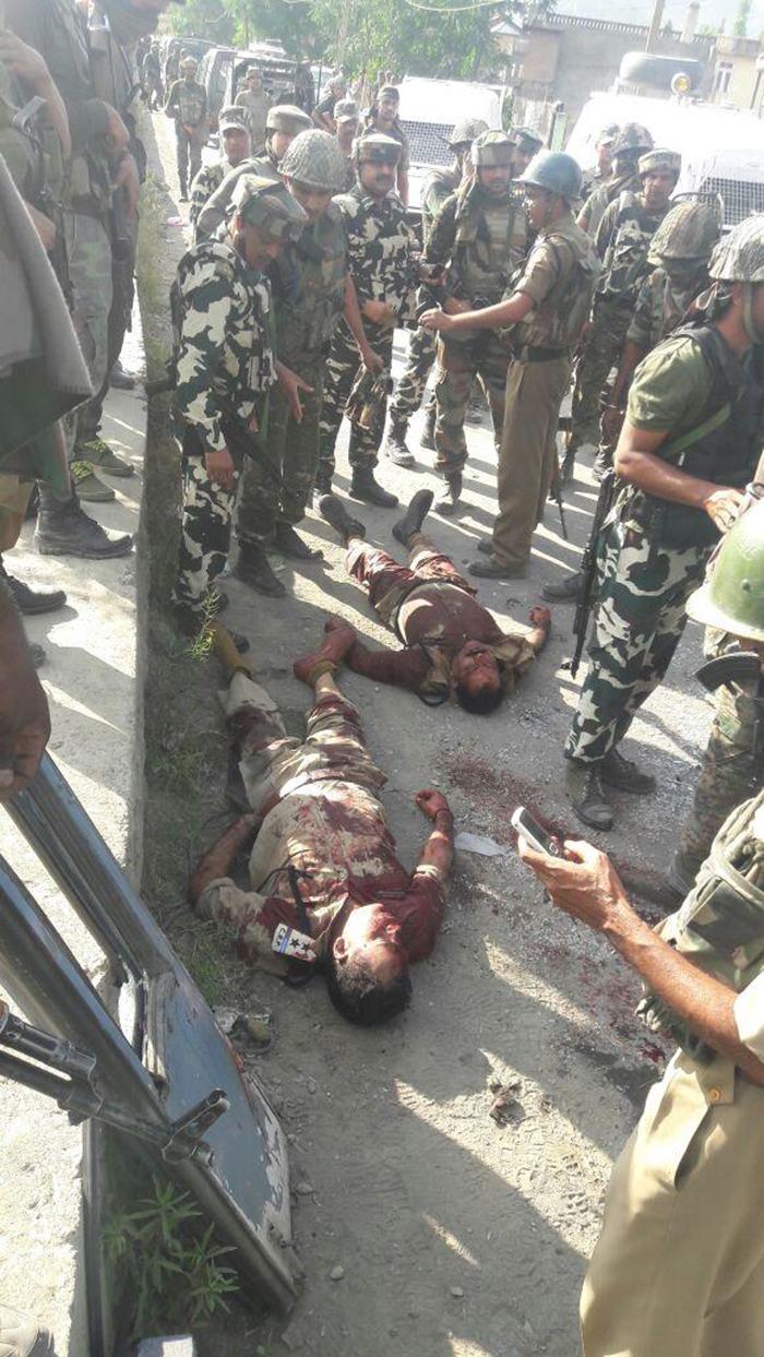 Killings of CRPF Jawans in Pampore