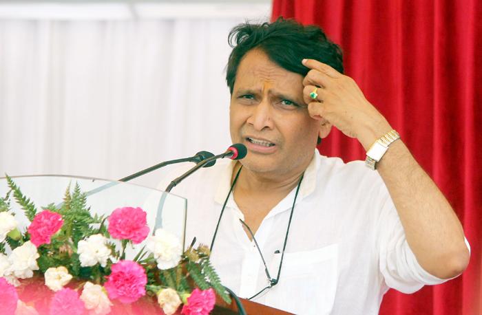 Railways Minister Suresh Prabhu