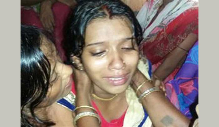 wife of slain CRPF jawan Diwakar Kumar