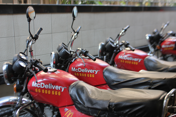 Delivery boy