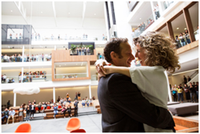 Airbnb Wedding! Airbnb Hosts First Silicon Valley Office Wedding